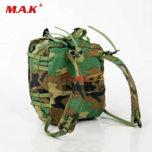 1/6 Military Soldiers Ginger Shoulder Bag Messenger 1:6 Scale Action Figure Toy for 12 Model Accessories