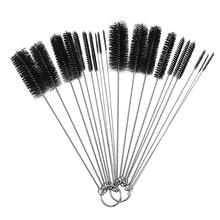 10 Pcs Nylon Bottle Tube Nozzle Brushes Cleaning Brush Kitchen Cleaner Set #