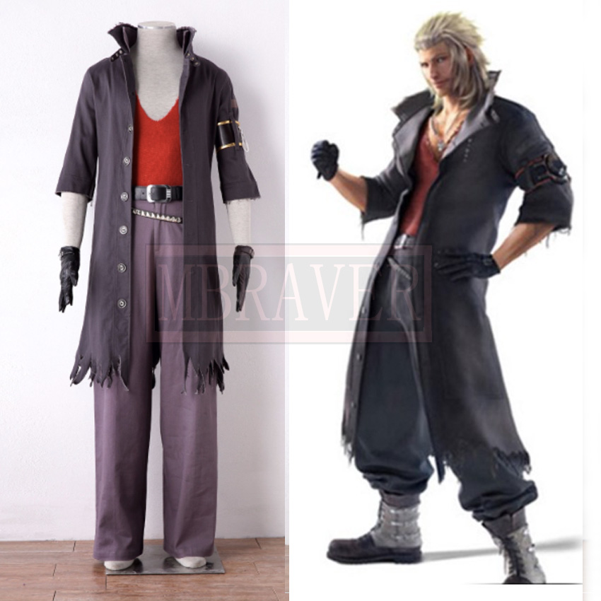 Final Fantasy XIII Snow Villiers cosplay Halloween Costumes