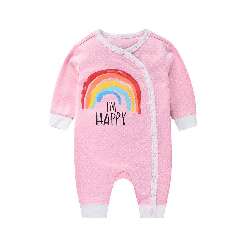 6c6875dd1 3 6 9 12M Spring Autumn Unisex Newborn Infant Costumes Pajamas Baby ...