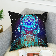 2019 Double 3D Digital Printing Cushion Cover Pillow Super Soft Cloth pillow cover