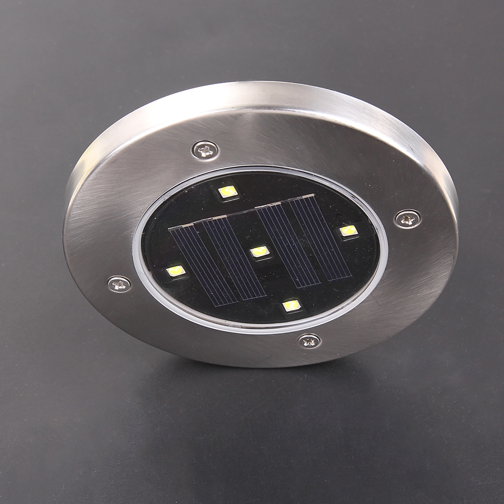 Outdoor Solar Powered 5 LED Solar Garten Licht Straße Treppen ...
