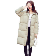 Girls Hooded Puffer Quilted Jacket Green Gray Black Puff Parka Winter Woman Hood Wadded Overcoat Basic Ovresized Padded Jacket