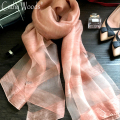 Womens Scarf Silk 2016 Luxury Scarves 100% Silk Twill Scarf Scarves chalinas mujer