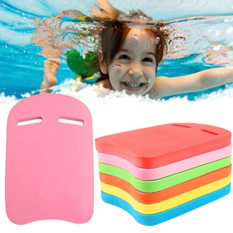 New Swimming Pool Piscina EVA Back Float Kickboard Safe Swimming Training Aid Plate Board Adult Kid Swimming Pool Accessories