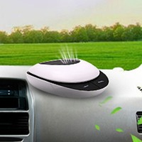 Intelligent Solar Vehicle Air Purifier Vehicle Oxygen Bar For Deodorizing Formaldehyde And Negative Ions