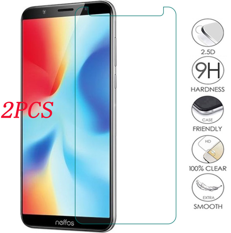 2PCS 9H Tempered Glass For TP-Link Neffos C5A C5s C7A C9A C9 N1 X9 X1 Lite Y5 Y5s C5 Max  Protective Film Screen Protector