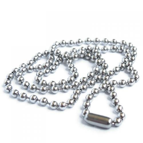 Stainless Steel Bead Metal Bead Necklace Chain