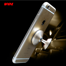 VOLTOP 360 Вращающийся магнит держатель телефона автомобильные аксессуары приборная панель воздуха розетка Универсальный металлический мобильный телефон Поддержка Стенд
