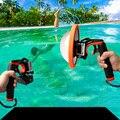 Gopro hero4 3 + 3 gatilho do obturador mergulho flutuabilidade vara auto-stick acessórios luzes de mergulho máscara de mergulho