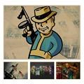 Fallout 3 4 Игры ретро Плакат Ретро Крафт-Бумага Бар Кафе Декор Для Дома Живопись Стикер Стены