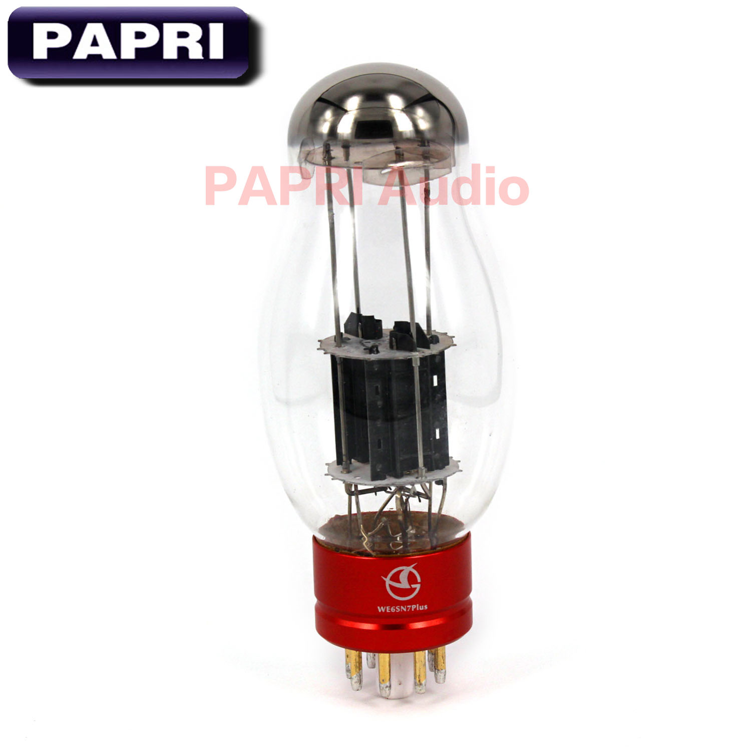 PAPRI Newest WE6SN7 PLUS Vacuum Tube HiFi Shuguang Treasure For Audio HIFI DIY Tube Amplifier Factory Tested Matched 1PCS цена и фото