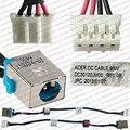 100% original novo 90 watt laptop dc power jack soquete cabo conector do fio para acer aspire e1-571 e1-571g series