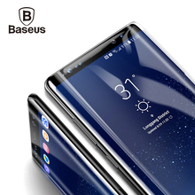 Screen Protector For Samsung Galaxy Note 8 Note8 Baseus 3D Arc Tempered Glass For Galaxy Note 8 Full Protective Glass Film