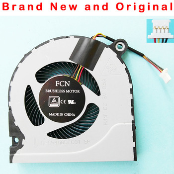 Nowy oryginalny cpu wentylator chłodzący do Acer Predator Helios 300 G3-571 Nitro5 AN515 AN515-51 52 AN515-41 wentylator procesora chłodnicy tanie i dobre opinie FUUJAA 2 5 W 100000 godzin 4 Linie 4PIN FOR FCN DFS541105FC0T FJN1