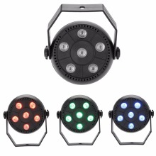 9W 3 In 1 RGB LED Par Light moving head DJ Disco Light Dance Party KTV Lights DMX Controller Stage Lamp (EU Plug 110V-240V) new professional indoor 54 x 3w rgb 3in1 flat led par can lights can 110v 240v energy saving led par light tiptop 20xlot