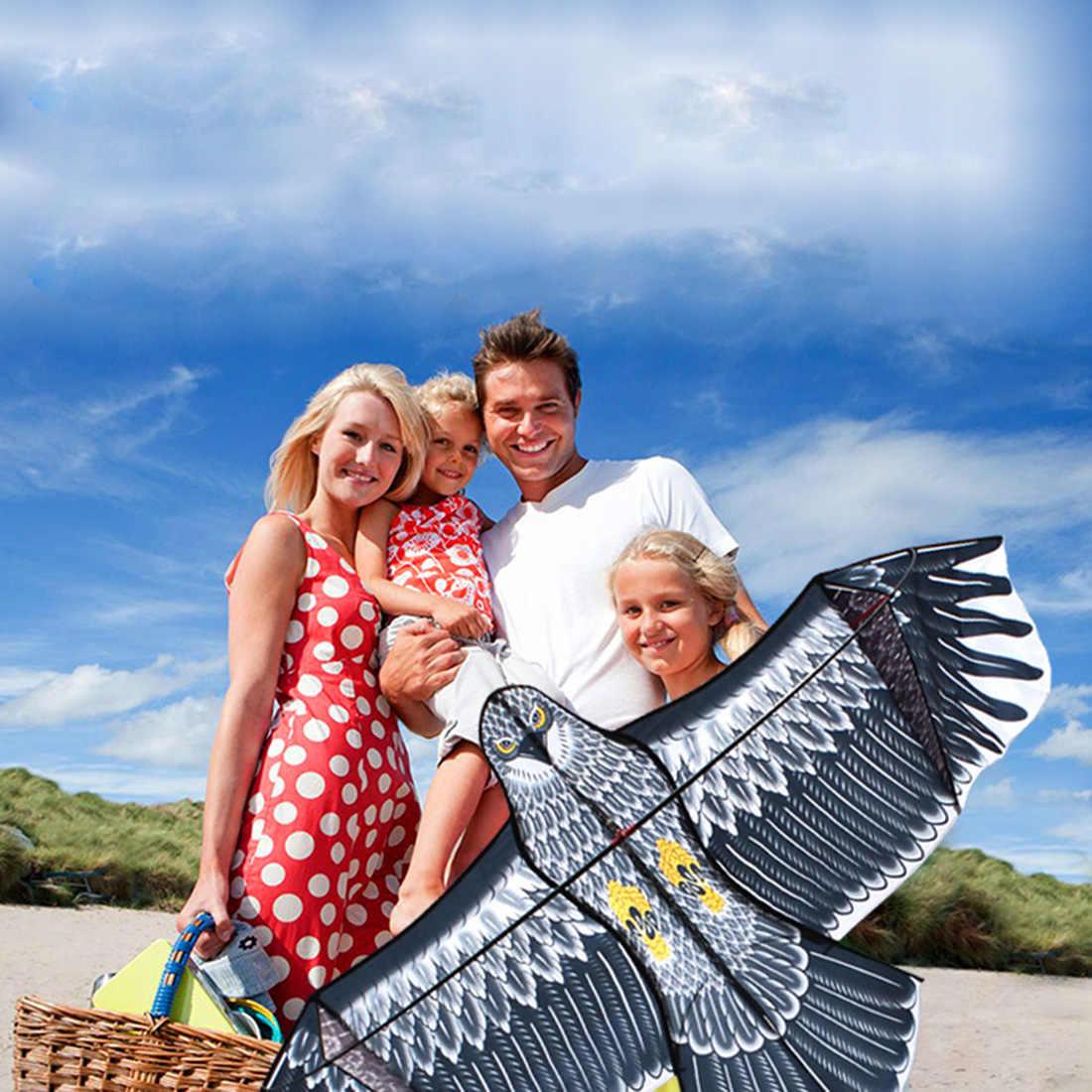 1.8m עפיפון נשר חידוש בעלי החיים עפיפונים קל Flyer צעצוע שליטה קלה טוב עף נשר עפיפון טיולים משפחתיים חיצוני כיף ספורט עבור ילד