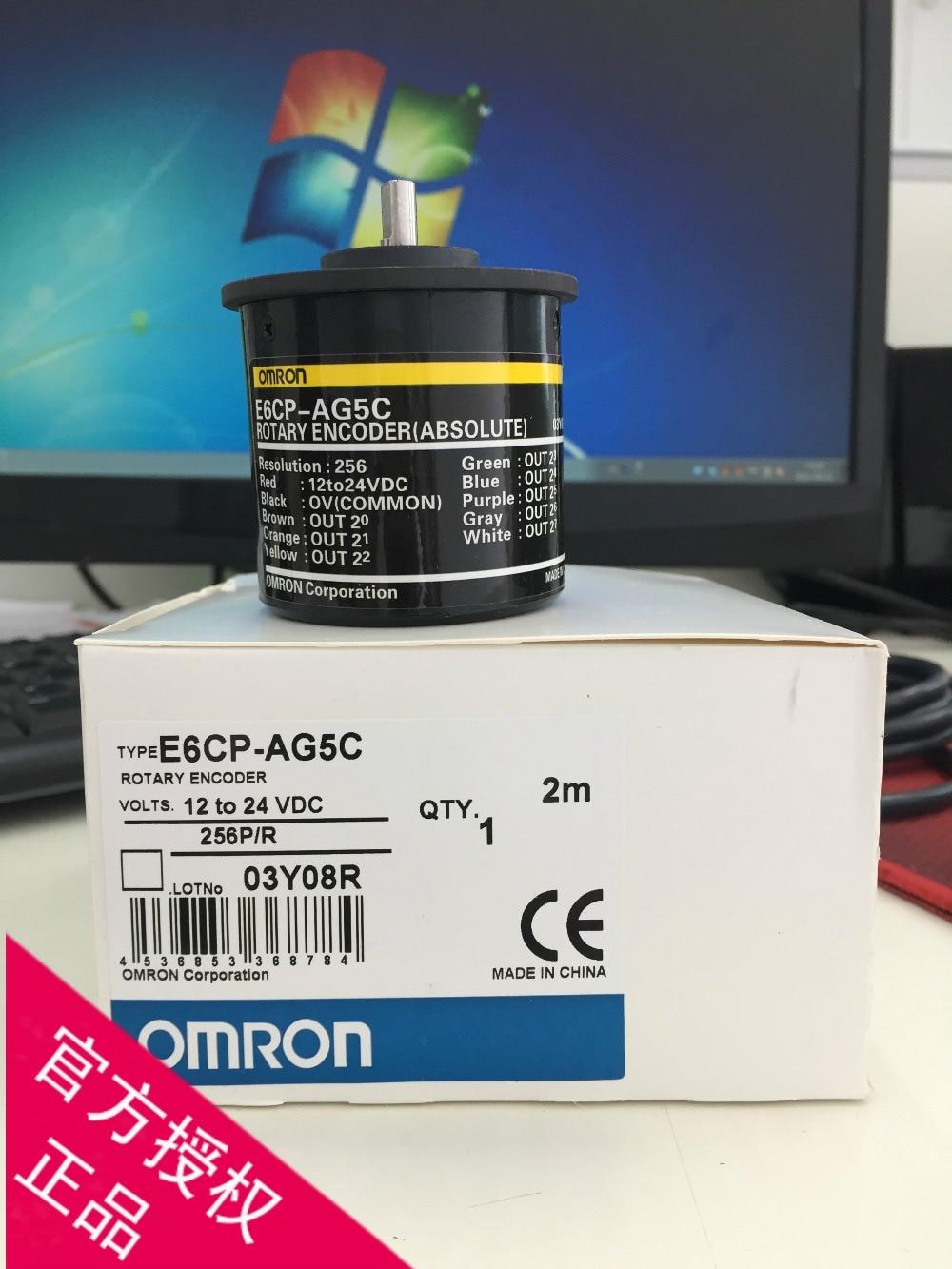 E6CP-AG5C 256P/R  360P/R  1024P/R encoder e6cp ag5c c 256p r 2m absolute value new original