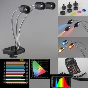 Image 3 - Luz de fondo mágica LED Falcon Eyes Triple 3 para Macro tiro, fotografía de joyería, productos de fotografía, DV 3B de Youtube