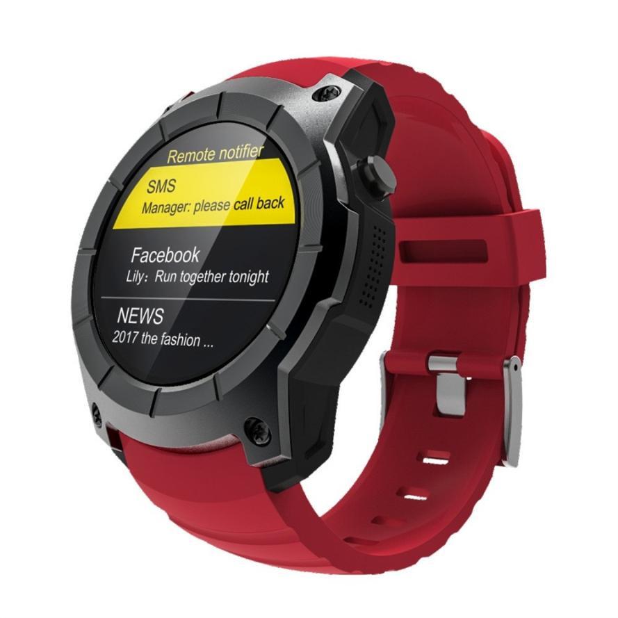 Для мужчин Bluetooth Smart часы Поддержка gps, Давление, вызов, пульс, спортивные часы #831