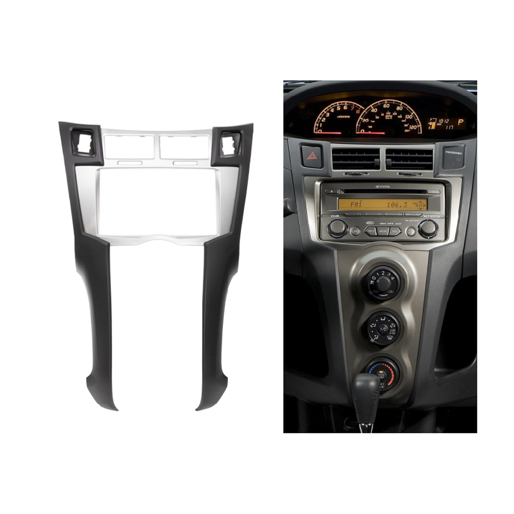 fascia for toyota yaris vitz platz radio dvd stereo panel. Black Bedroom Furniture Sets. Home Design Ideas
