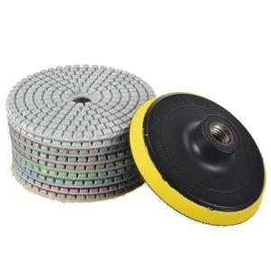 Алмазные полировальные диски, 10 шт., 100 мм/4 дюйма, M14, камень, бетон, Мраморный шлифовальный диск, набор инструментов, Mayitr