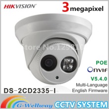Clearance Free shipping New model DS-2CD2335-I replace DS-2CD2332-I 3mp array 30m IR Network Dome security ip camera H265