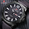 Luxury Brand Naviforce Men Military Watches Quartz Analog Fashion Nylon Clock Male Sports Watches Army Watch Relogios Masculinos