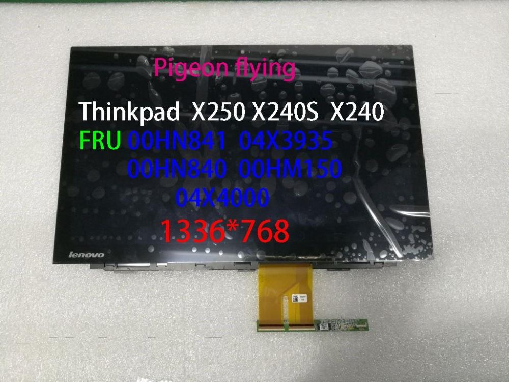 Pour Thinkpad X250 X240 X240S 1336*768 tactile 30 pin 12.5