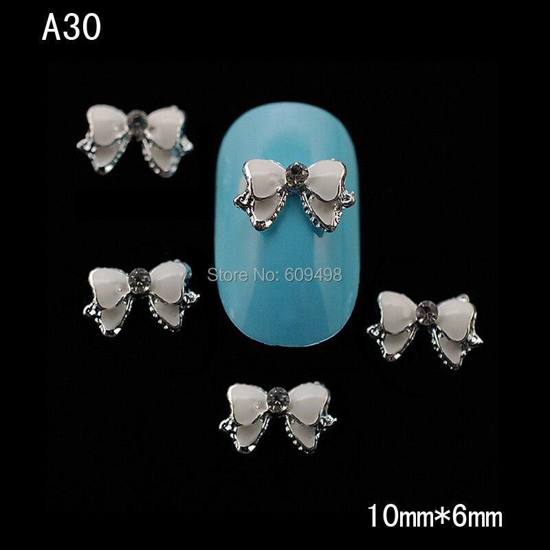 A30 100 pcs/lot горный хрусталь белый дутый yakeli салон алмаз маникюр для девочка модель star аксессуары 3d своими руками гвоздь