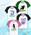 Free! Iwatobi Club Cosplay Costume Nanase Haruka Tachibana Makoto Hazuki Nagisa Ryugazaki Rei Unisex Cotton T-shirt T Shirt