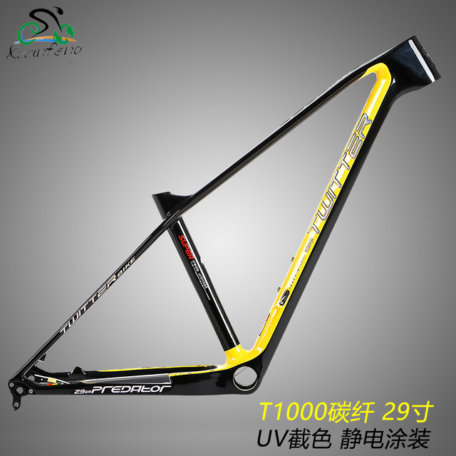 Twitter Predator T1000 Carbon Mtb Frame 29er 27.5er 15.5 16.5 17.5 19 Inch Mountain Bike Racing XC Cross Country Bicycle Parts