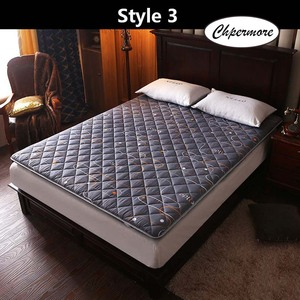 Image 5 - Chpermore thickening Sanding print Mattress Tatami Single double Foldable Mattresses Bedspreads King Queen Twin Size