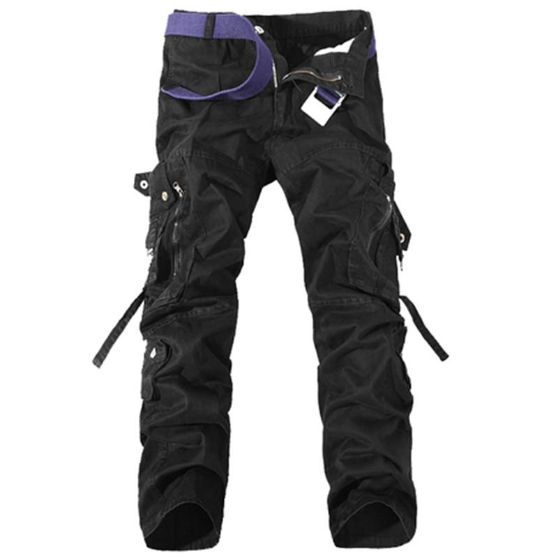 Νέο 2017 ανδρών φορτίου παντελόνι - Ανδρικός ρουχισμός - Φωτογραφία 4