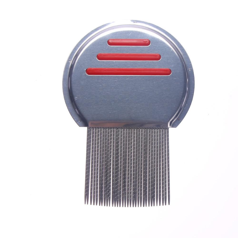 5 hot selling Stainless Steel Kids Hair Terminator Lice Comb Nit Free Rid Headlice Super Density