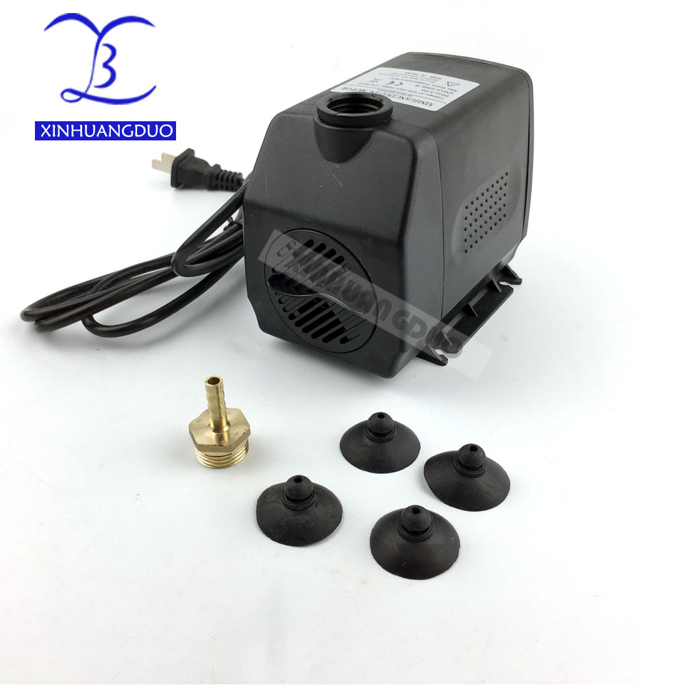 75W pump submersible water pump 220V 75W 3.5M for cnc router 2.2kw