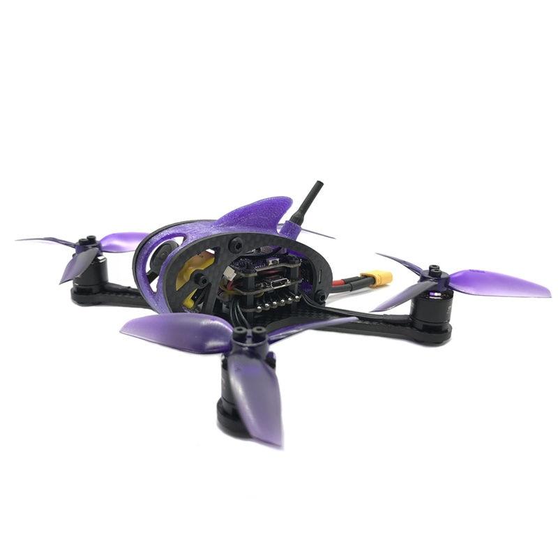 Drone de course à grande vitesse 3SE 130mm FPV PNP F411 28A BLHELI_S 25/100/200/400/600 mW VTX RC quadrirotor Racer hélicoptère-in Pièces et accessoires from Jeux et loisirs    2