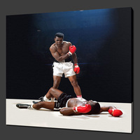 MUHAMMAD ALI BOXING ICON  oil painting --TOP ART oil painting --custom  60