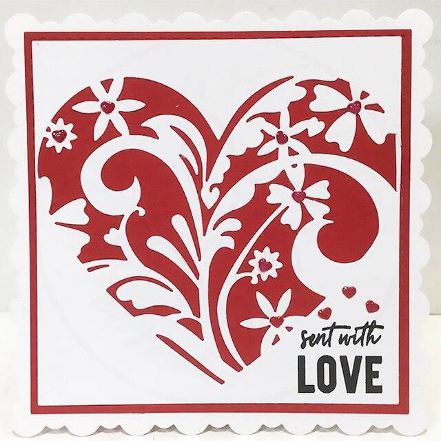 YaMinSanNiO 1Pcs 160*140mm Heartfelt Love