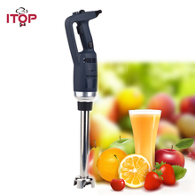 ITOP EU/UK/US Plug 350W Fixed Speed Hand held Immersion Blender Commercial Blender Mixers Food Processors Heavy Duty Machine