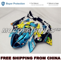 Motorcycle ABS Plastic Injection Fairing Kit For BMW S1000RR 2015 2016 Shark Design