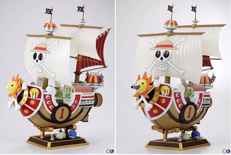 One Piece Going Merry Boat Figure Ship Thousand Sunny Going Merry Pirate Boat Onepiece Anime Action Figure OP04