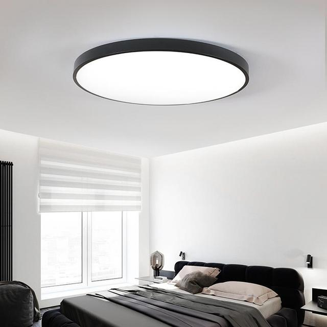 Ultra Thin Led Ceiling Lamp Simple Modern Living Room Circular Small Bedroom Restaurant