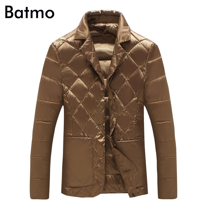 Batmo 2017 new arrival winter high quality 90% white duck   down   casual jacket men,winter men's   coat   plus-size M-5XL,Y1104