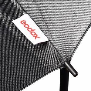 """Image 5 - Gododx 40 """"/101 cm profesjonalne Studio fotograficzne oświetlenie odblaskowe czarny srebrny parasol"""