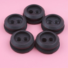 5pcs/lot 2 Hole Fuel Gas Line Grommet For Homelite Kawasaki MTD Ryobi Craftsman Grass Trimmer Replacement Spare Part