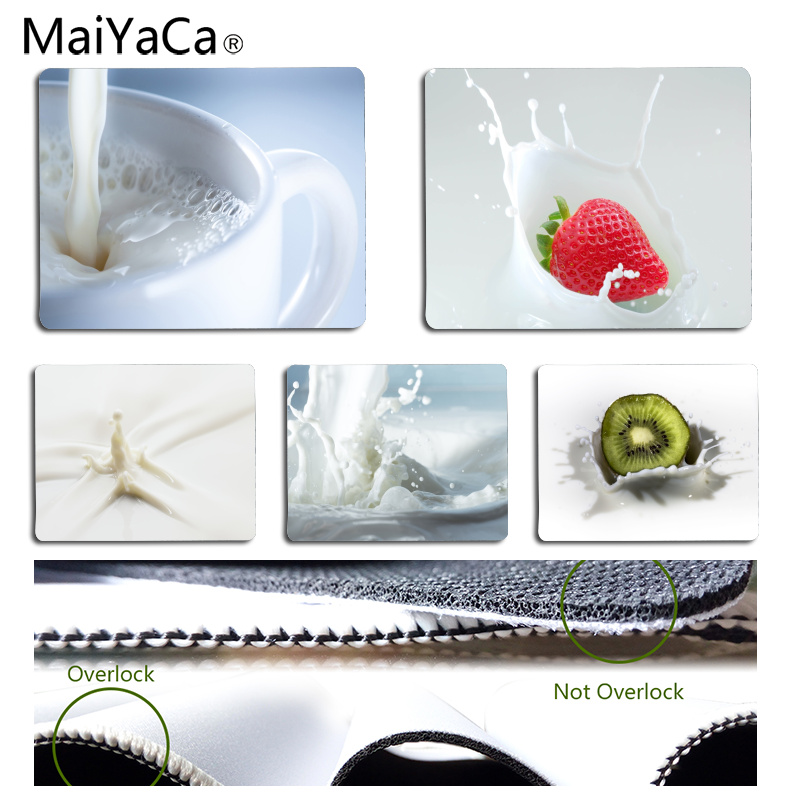 MaiYaCa 2018 New Milk Computer Gaming Mousemats Size for 180*220*2mm and 250*290*2mm Mousepad