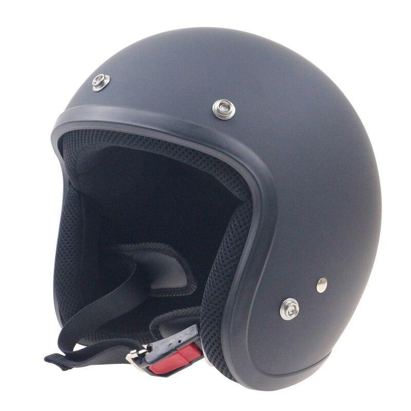 Japan Classic Vintage 3 4 Motorcycle font b Helmet b font High quality Chopper Bike font