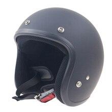 Japón Classic Vintage 3/4 Chopper Bike helmet Casco de Motocicleta De Alta calidad Sml XL XXL disponible