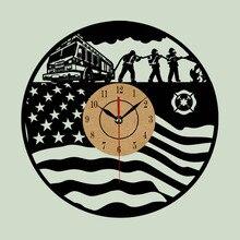 Super Cool Vinyl Record Wall Clock  Theme Art CD Clock Watch Creative Horloge Home